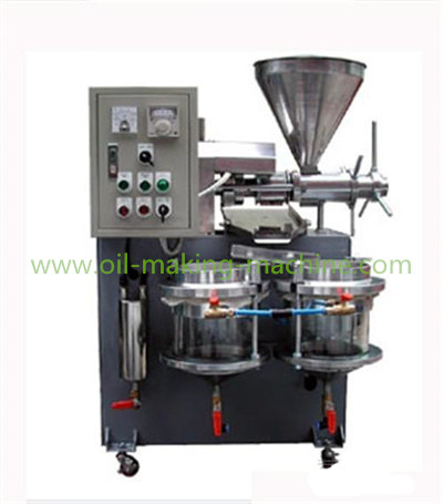 small mobile oil press machine