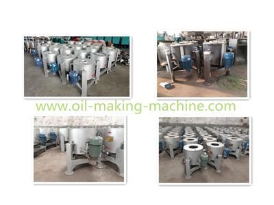 centrifugal oil refining machine
