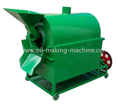 Automatic frying seed machine
