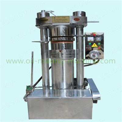Hydraulic tea seed oil press machine