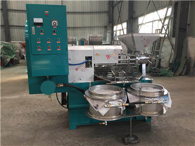 soya bean oil press machine